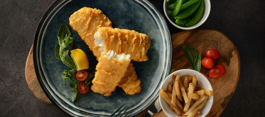 Sustainable Harvest Fish and Chips