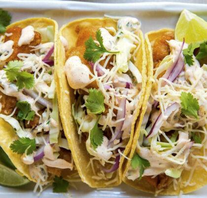 baja style fish taco
