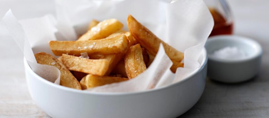 Twice cooked chips – the best you will ever taste!