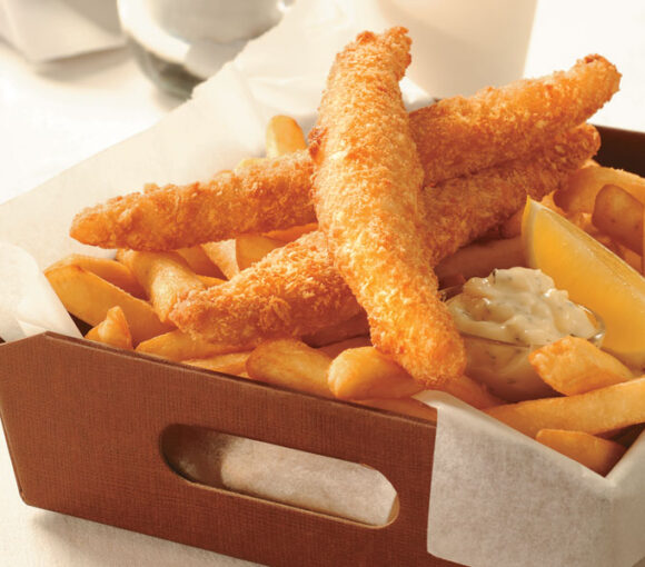 Hand Crumbed Flathead, chips and an amazing tartare sauce