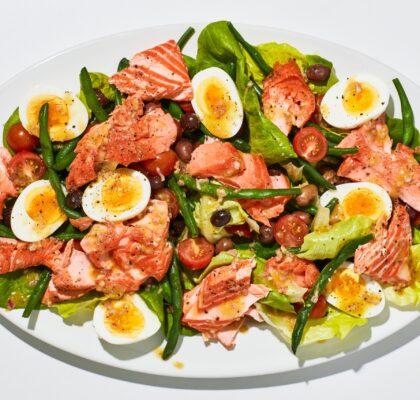 nicoise salmon salad