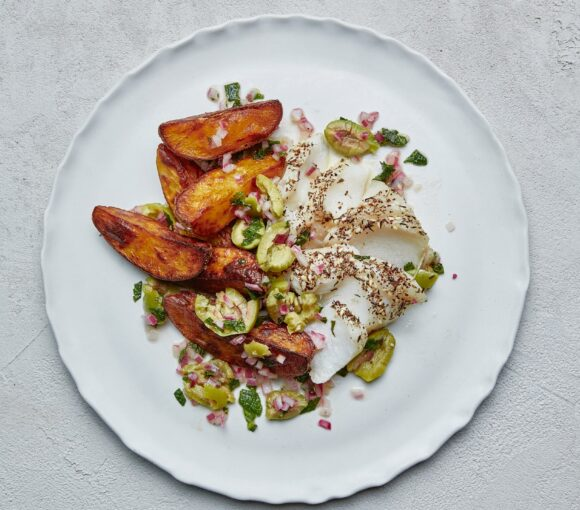 Za'atar Fish and Chips