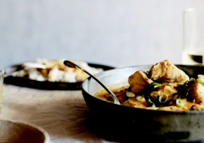 creamy coconut fish curry