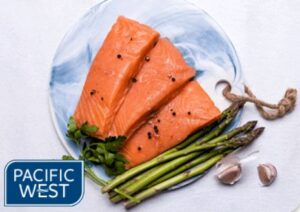 Pacific West skinless salmon portions