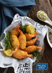 Pacific West's Crumbed Prawn Cutlets