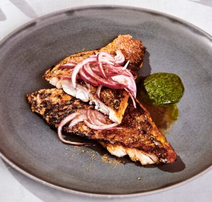 Crispy Fish Fillet-With-Chaat-Masala