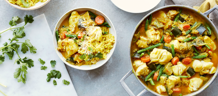 Authentic Southern Indian Fish Curry