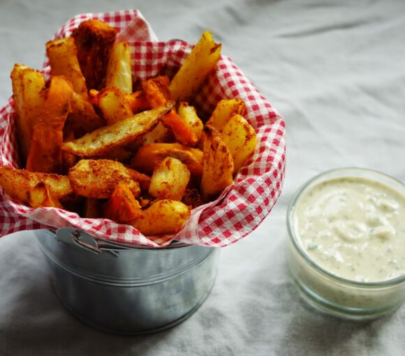 Southern Fries & Cool Ranch Dip