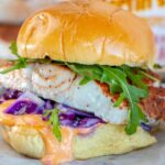 Blackened Fish Sandwich with Spicy Mayo