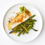 Crispy Miso Butter Barramundi With Asparagus - Meal Kit Idea!