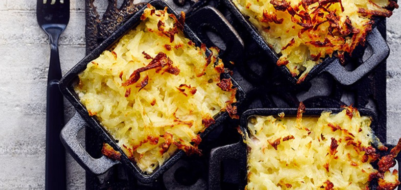 Best Fish Pies with Rösti Topping