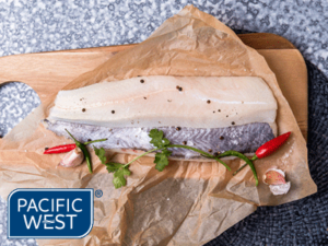 Pacific West Hoki Fillets Skin On