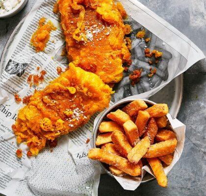 Real British Fish and Chips