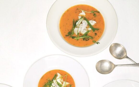 tomato-and-crab-soup