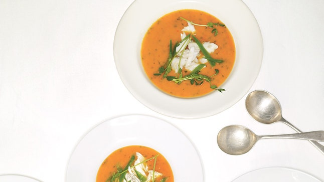 Perfect Tomato and Crab Soup