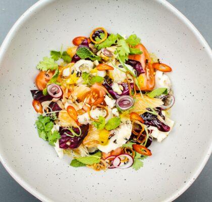 Grilled Barramundi Salad